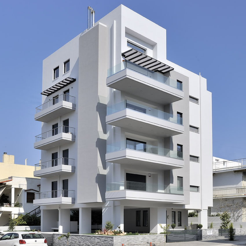 Four-storey building, 27 Chrisostomou Smirnis, Ilioupouli