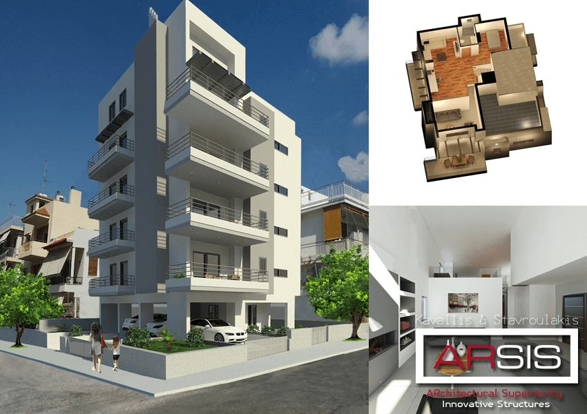 New building  located in Chrisostomou Smirnis 27 and Thiseos Ilioupoli Athens